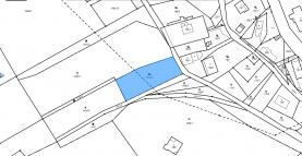 katastrální mapa (Prodej, stavební parcela, 1569 m2, Horní Libchava), foto 3/9