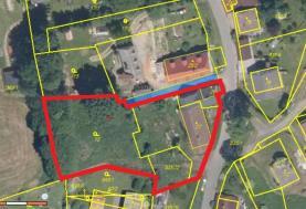 Prodej, stavební parcela, 3186 m2, Uhliště