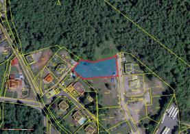 Prodej, stavební pozemek, 1728 m2, Svatava, ul. Podlesí