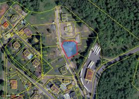 Prodej, stavební pozemek, 888 m2, Svatava, ul. Podlesí