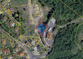 Prodej, stavební pozemek, 917 m2, Svatava, ul. Podlesí