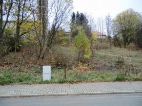 Prodej, stavební parcela, 1243 m2, Vejprty, ul. B. Němcové