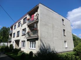 Prodej, byt 1+1, garáž, zahrada, Liberec, ul. Švermova