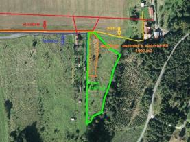 Prodej, stavební pozemek, 5167 m2, Poličná