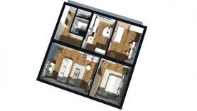 Prodej, byt 3+1, 72 m2, Praha 8, ul. Kobyliské náměstí