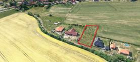 Prodej, pozemek, 1789 m2, Občov