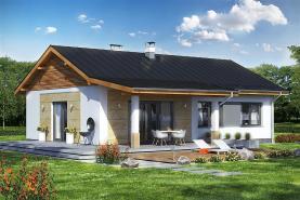 Prodej, dům na klíč 4+1, 820 m2, Toušice - Kouřim