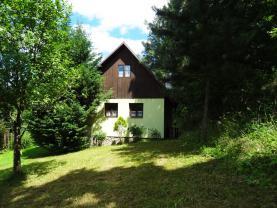 Prodej, zděná chata 2+kk, 1165 m2, Ledečko