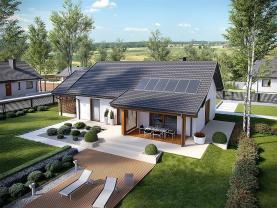 Prodej, rodinný dům na klíč 971 m2, Vrbčany u Českého Brodu