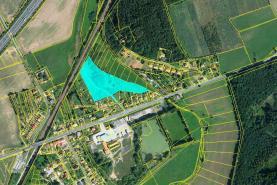 Prodej, stavební parcela, 17576 m2, Kařez, okres Rokycany