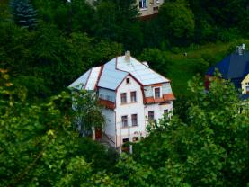 Prodej, rodinný dům, 6+1, 1176 m2, Jáchymov, ul. Jiráskova