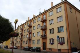 Prodej, byt 2+1, 55 m2, OV, Cheb, ul. Školní