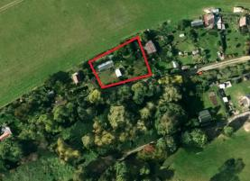 Prodej, zahrada,1100 m2, Tachov - Mýto