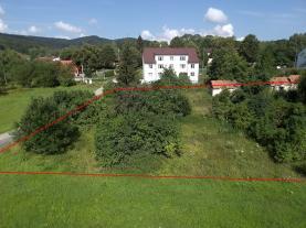 (Prodej, stavební pozemek,1024 m2, Vyšší Brod - Studánky), foto 2/17