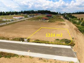 Prodej, stavební pozemek 1224 m2, Mariánovice - Benešov