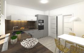 Prodej, byt 2+kk, 62 m2, Litovel - centrum