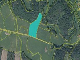Prodej, pozemek, 13125 m2, Hamr na Jezeře