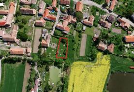 Prodej, zahrada, 525 m2, Zájezdec