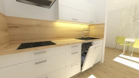 Prodej, byt 3+1, 74 m2, Zlín - centrum