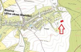 Prodej, stavební pozemek, 945 m2, Březina