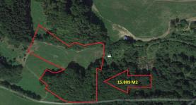 Prodej, pastvina, 15809 m², Velké Popovice