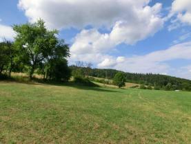 Prodej, stavební pozemek, 1730 m2, Lhota u Vsetína