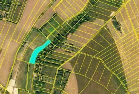 Prodej, orná půda, 2274 m2, Hostěnice