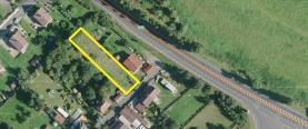 Prodej, pozemek, 990 m2, Bochov, ul. Zahradní
