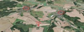 Mapa (Prodej, pole, 36 237 m2, Vroutek), foto 2/7