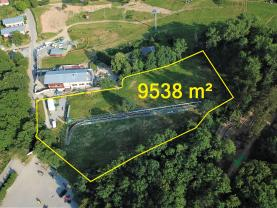 Prodej, stavební pozemek, 9538m2, Sedlec-Prčice,Jetřichovice