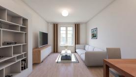 Prodej, byt 1+1, 41m2, OV, Praha 5 - Smichov
