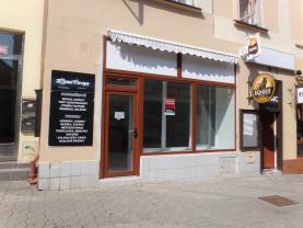 Pronájem, obchodní prostory, 50 m2, Kladno, ul. T.G.Masaryka