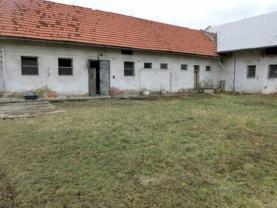 Prodej, stavební pozemek s budovou, 465 m2, Netřebice