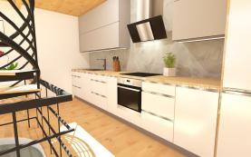 (Prodej, loftový byt 2+kk, 92 m2, Praha 8, ul. Novákových), foto 2/27