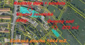 mapa  (Prodej, výrobní objekt, Černilov)