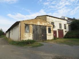 Prodej, skladové prostory, 1170m2, Manětín