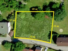 Prodej, stavební pozemek, 1008 m2, Mošnov