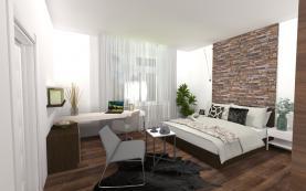 Prodej, byt 2+kk, 52 m2, Milovice Benátecká Vrutice