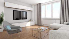 Prodej, byt 2+1, 52 m2, Kolín