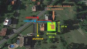 Prodej, stavební parcela, 559 m2, Morávka