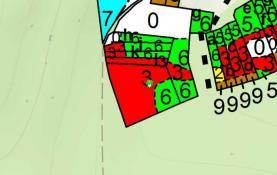 Prodej, lesní pozemek, 4909 m2, Měrčín
