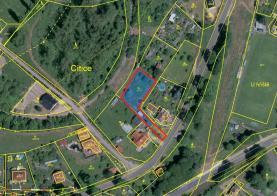 Prodej, stavební pozemek, 1041 m2, Citice