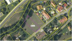 Prodej, stavební parcela, 940 m2, Kvasiny