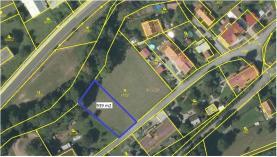 Prodej, stavební parcela, 939 m2, Kvasiny