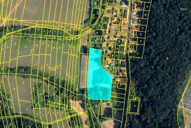 Prodej, stavební parcela, 7273 m2, Třeboc