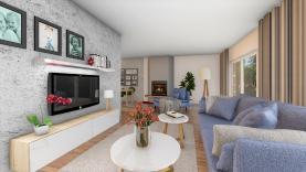Prodej, rodinný dům 4+1, 1375 m2, Zlatá