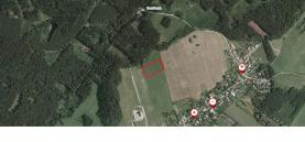 Prodej, pozemek, 4072 m2, Pohořany