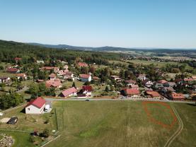 Prodej, pozemek, 1176m2 , Drahlín