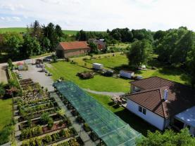 Pronájem, zavedené zahradnictví, 2676 m2, Miličín