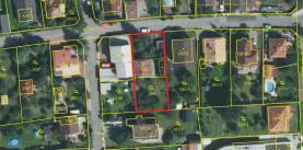 Prodej, stavební parcela, 706 m2, Praha 5 - K Rozvodně